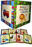 Usborne Baby's Very First Collection 8 Books Set Children Gift Pack Farm Animals