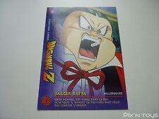 Carte originale Dragon Ball Z Fighting Cards N°38 / Panini 1999 BIRD STUDIO