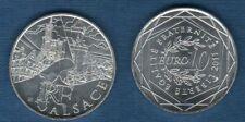 10 Euro Série des Régions 2011 Alsace - Monuments SUP -