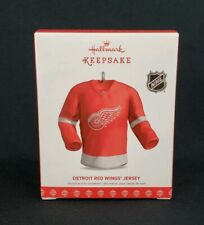 Detroit Red Wings Jersey NHL Hallmark Keepsake Ornament