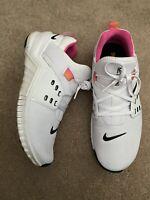 **Nike Free Metcon 2 CD8526-100 Athletic Shoes, Women's Size 9, White