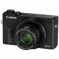 Canon PowerShot G7 X Mark III 20.2MP 4K Digital Camera 4.2x Optical Zoom Black