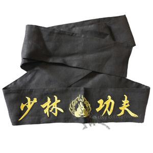 Embroidery Shaolin Monk Kung fu Karate Belt Taekwondo Martial arts Sashes