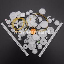 75 Kinds Of Plastic Gear Rack Pulley Belt Worm Gear Single Double Gear Teeth Diy