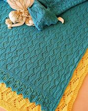 ESTONIAN LULLABY BABY BLANKET by EVELYN A. CLARK