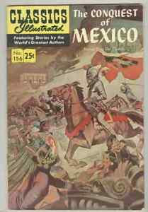 Classics Illustrated #156 Spring 1970 VG/FN The Conquest of Mexico