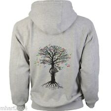 Bagpipes Hoody Musical Tree Scottish Piper in sizes Kids to XXL