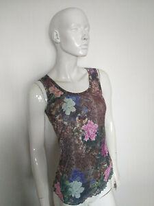 ETOILE DU MONDE women's sleeveless top size 4