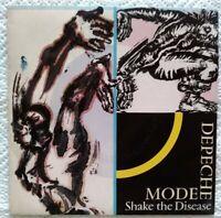 "Depeche Mode 7""-1985-⚠️Promo-Shake the disease/Mute Records 102076 France"