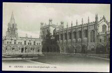 "LL / LEVY NO 46 OXFORD POSTCARD ""CH. CH. QUADRANGLE"". POSTED 1926."
