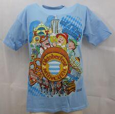 B&C Herren T-Shirt Kurzarm Print Hemd Party Tee Shirt Oktoberfest München Neu M