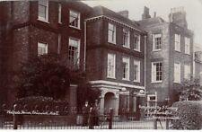 London Real Photo Postcard. Walpole House. Chiswick Mall. Hounslow. Fine! 1905