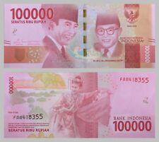 Indonesien / Indonesia 100000 Rupiah 2016 Nationalhelden unz.
