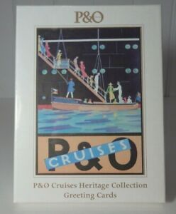 P&O Cruises Heritage Collection Greeting Cards. New in Plastic. FREE POSTAGE!