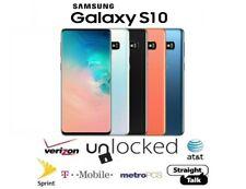 Samsung Galaxy S10 128GB 512GB - Verizon Factory GSM Unlocked T-Mobile Dual SIM