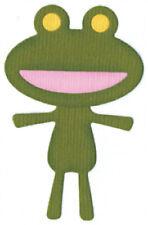 Quickutz/Lifestyle Crafts c-0101-d custom Frog 2 Cutting Dies NEW