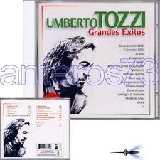 "UMBERTO TOZZI ""GRANDES EXITOS"" RARO CD IN SPAGNOLO"