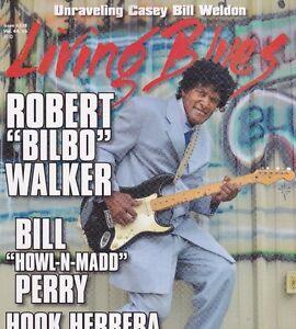 "LIVING BLUES MAGAZINE NUMBER 228 DEC 2013 BOOGIE JAKE ROBERT ""BILBO"" WALKER"
