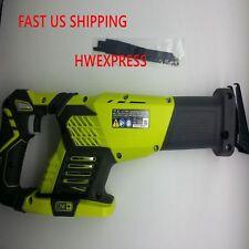 Ryobi One+ P514 18V 18-volt Cordless Variable Speed Reciprocating Saw w/2 Blades
