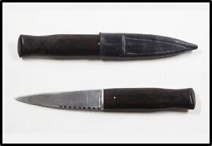 Vintage Custom Made unknown Sgian Dubh Scottish sock knife dagger dirk NICE LOOK
