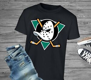 Mighty Ducks Logo 90s Kid Movie - Throwback Retro Vintage Nostalgic T-Shirt Tee