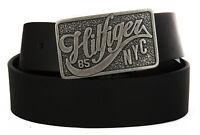 Cintura uomo pelle belt TOMMY HILFIGER art. AM0AM01309 taglia 105 col. 002 NERO