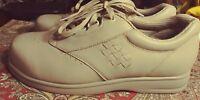 ACOR  Shoes Unisex BEIGE LEATHER Upper  Mens 6M-6XW  Womens 8M-8XW 🎁🎁