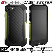 Element Case SECTOR Case For iPhone 7 CITRON | MIL-SPEC | TPU Carbon Fibre Alu