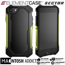 Element Case SECTOR Case For iPhone 7 CITRON   MIL-SPEC   TPU Carbon Fibre Alu