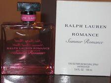 RALPH LAUREN ROMANCE SUMMER ROMANCE EDP NATURAL SPRAY - AUTHENTIC - 3.4 FL OZ