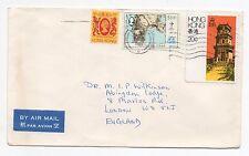 1984 HONG KONG Air Mail Cover KOWLOON To LONDON GB Yuen