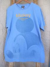 Mickey Unlimited ' Mickey Unquestionable Charm ' Baby Blue T Shirt Size L