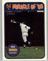 Ron Swoboda 2018 Topps Heritage High Number MIRACLE OF '69 Mets MO69-RS