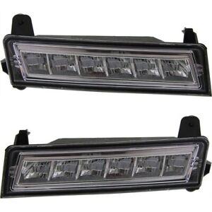 Daytime Running Light Lamp DRL Set For 2010-2012 Mercedes Benz GLK350 Left&Right