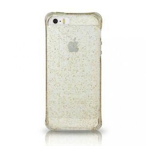Ballistic Gold Glitzer Gel Plastik Schutzhülle für Apple IPHONE 6 4.7 Inch-Clear