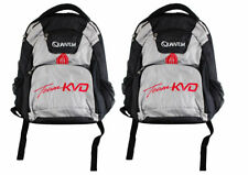 (Lot Of 2) Quantum Team Kvd Black/Silver Backpack