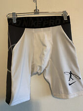 Nike Pro Hyperstrong Size Large Men's Compression Shorts White