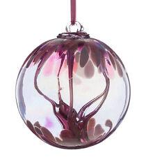 Glass Attraction Orb, Pastel Pink, Friendship