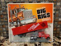 "ZEE - Big Rigs Die-Cast Metal ""FLYING TIGERS"" Model Truck Blister Pack"