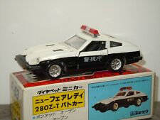 Nissan Fairlady 280ZT Police - Diapet P-53 Japan 1:40 in Box *32102