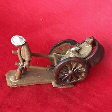 Vintage Ceramic Bonsai Mudman Rickshaw