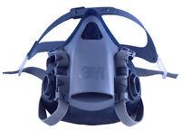 3M 7500 Serie Premium Silikon Komfort Half Maske Atemschutzmaske 7501 KLEIN