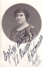 KSENIA DZERHINSKAYA Soprano rare autographed photograph - Rachmaninov favorite!
