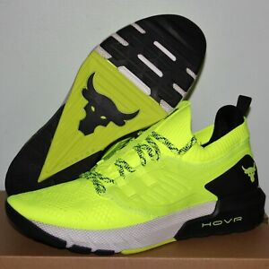 Under Armour Project Rock 3 Training Shoes Mens 3023004 306 Hi-Res Yellow Black