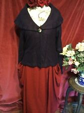 STUNNING WOOL JACKET , BOHEMIAN, LAGENLOOK, QUIRKY. SIZE  XL  RRP £95