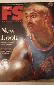 1995 June Beckett FS Future Stars Magazine Grant Hill Pistons Steve McNair