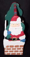 Midwest of Cannon Falls Holiday Christmas Santa  Handmade Wooden Caddy