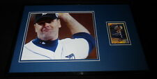 Kenny Rogers Signed Framed 11x17 Photo Display Detroit Tigers Pine Tar