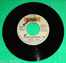 "PHILIPPINES:MICHAEL W. SMITH - For You,7"" 45 RPM,rare"