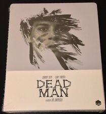 DEAD MAN Blu-Ray SteelBook UK Exclusive Region B Johnny Depp 1/2000 New OOP Rare